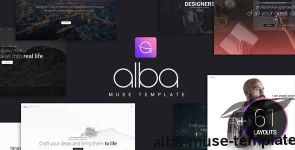 Alba Muse Template by nublis