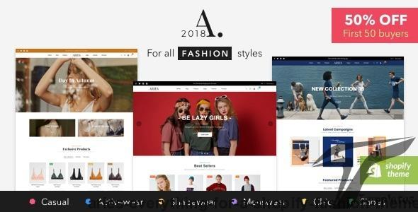 ARIES - Everything for a Shopify Fashion theme by adartstudio