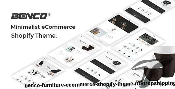 Benco - Furniture eCommerce Shopify Theme + RTL + Dropshipping by hastech