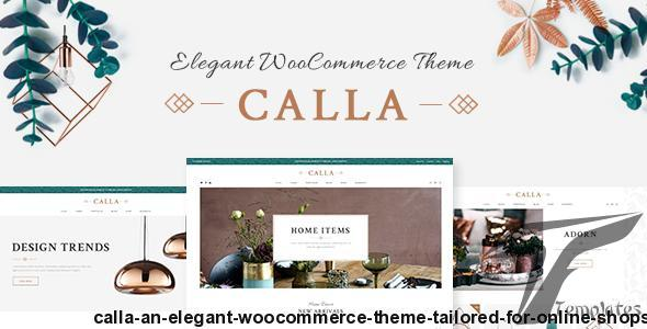 Calla - An Elegant WooCommerce Theme Tailored for Online Shops by elated-themes