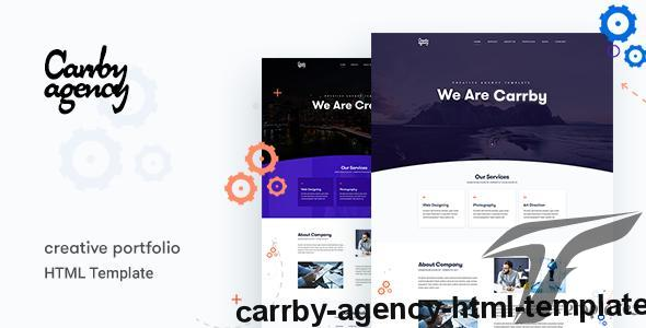 Carrby - Agency HTML Template by wpthemebooster