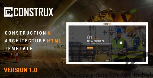 Construx - Construction & Architecture Html Template by thewebmax