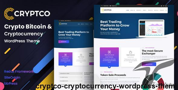 Cryptco - Cryptocurrency WordPress Theme by payothemes