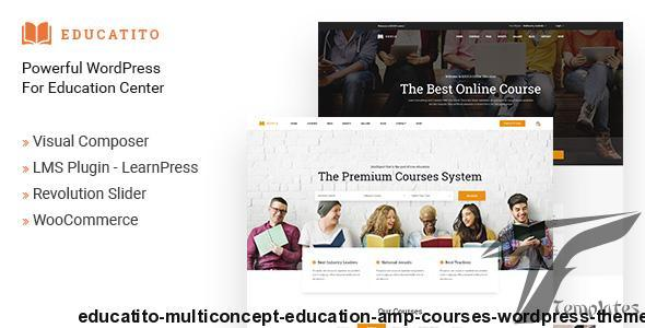 Educatito | Multiconcept Education & Courses WordPress Theme by jrbthemes