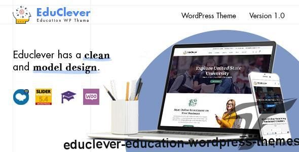 Educlever - Education WordPress Themes by bearsthemes