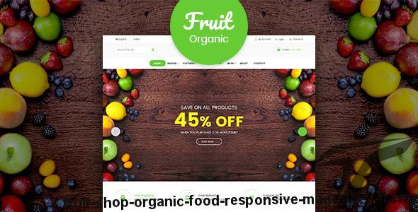 Fruit Shop - Organic Food Responsive Magento 2 Theme by the_blue_sky