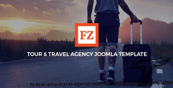 FZ - Tour & Travel Agency Joomla Template With Page Builder by joomlastars