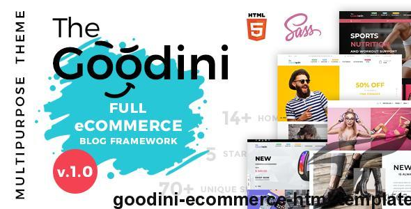 Goodini - eCommerce HTML Template by bigsteps