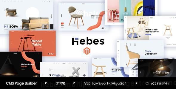 Hebes - Multipurpose Magento 2 Theme by arrowhitech