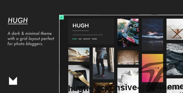 Hugh - Responsive Grid Theme by mnmlstudio