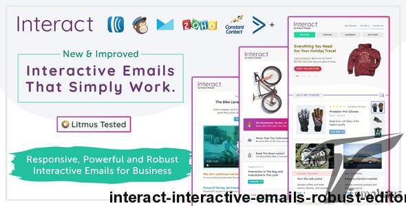 Interact - Interactive Emails + Robust Editor by robustdesigns