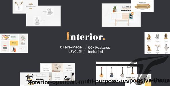Interior - Opencart Multi Purpose Responsive Theme by templatetrip