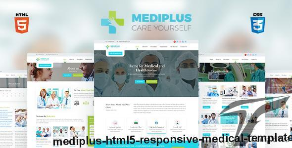 MediPlus HTML5 Responsive Medical Template by shohag4y