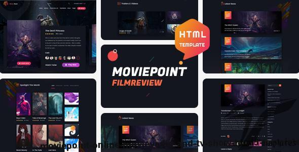 Moviepoint - Online Movie,Vedio and TV Show HTML5 Template by pixelthemez