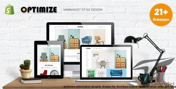 Optimize - Minimalist Shopify Theme For Furniture, Home Decor, Interior & Gift Shop by nova-creative
