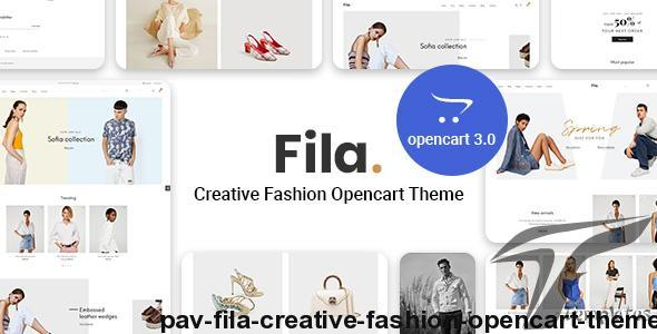 Pav Fila - Creative Fashion Opencart theme by pavothemes