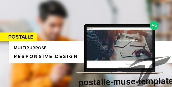 Postalle Muse Template by bygormo