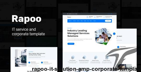 Rapoo - IT solution & corporate template by dreambuzz