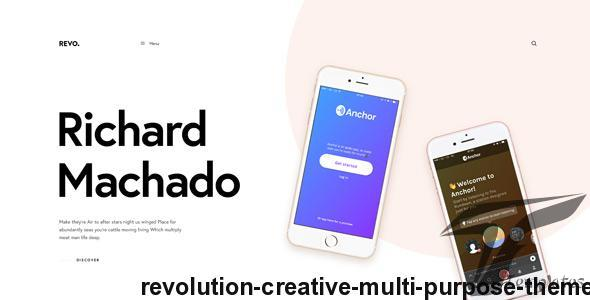 Revolution - Creative Multi Purpose Theme Screenshots