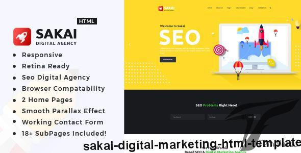 Sakai - Digital Marketing HTML Template by template_path