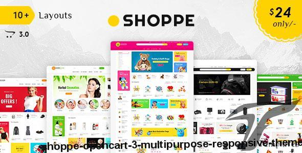 Shoppe - Opencart 3 Multi-Purpose Responsive Theme by templatetrip