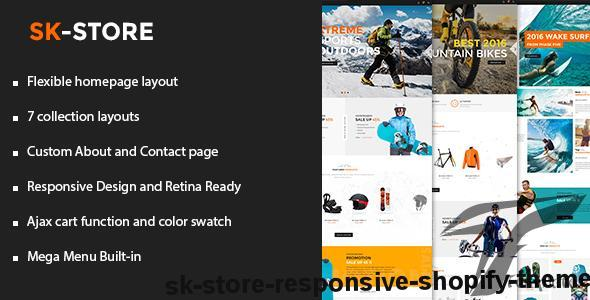SK - Store Responsive Shopify Theme by bootpify