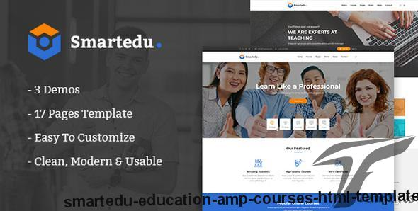 SmartEdu | Education & Courses HTML Template by authemes