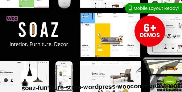 Soaz - Furniture Store WordPress WooCommerce Theme by magentech