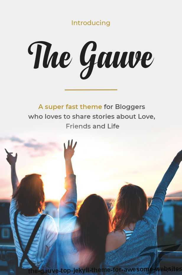 The Gauve - Top Jekyll Theme for Awesome Websites Screenshots