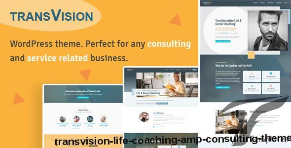 TransVision - Life Coaching & Consulting Theme by emerald