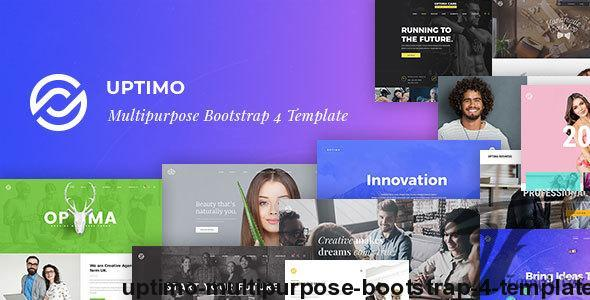 Uptimo - Multipurpose Bootstrap 4 Template by bootxperts