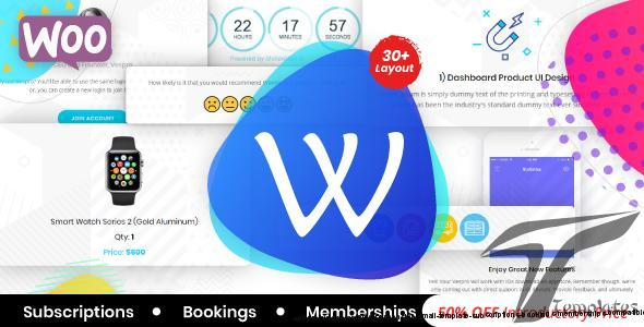 WooPro | WooCommarce Responsive Email Template + Subscriptions + Bookings + Memberships Compatible by aumfusion
