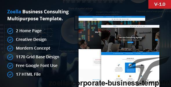 Zoella- Corporate Business Template by rhj_themes