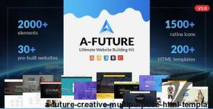 A Future - Creative Multi-Purpose HTML Template By webstrot