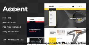 Accent - MultiPurpose OpenCart 3.x Responsive Theme By codezeel