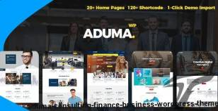 Aduma - Consulting, Finance, Business WordPress Theme By spyropress