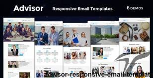 Advisor - Responsive Email Template By evethemes