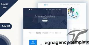 AGN-Agency Template By themeeverest