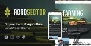 Agrosector – Agriculture & Organic Food Elementor WordPress Theme By gt3themes
