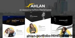 Ahlan – Portfolio HTML5 Template By irsfoundation