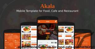 Akala - Mobile Template for Food, Cafe and Restaurant By ngetemplates