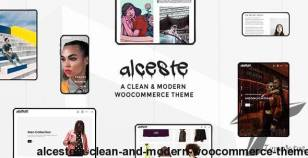 Alceste - A Clean and Modern WooCommerce Theme By wolf-themes
