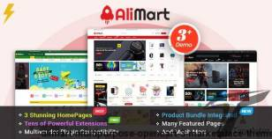 AliMart - Multipurpose OpenCart 3 Marketplace theme By magentech