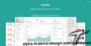 Alpha - Material Design Admin Template By steelcoders