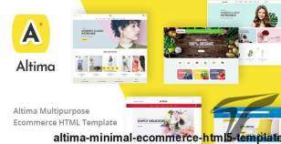 Altima - Minimal Ecommerce HTML5 Template By themesground
