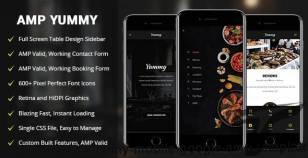 AMP Yummy | Mobile Google AMP Template