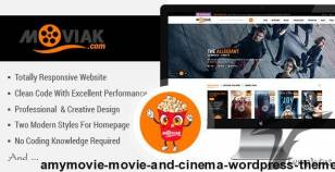 AmyMovie - Movie and Cinema WordPress Theme By amytheme