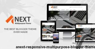 Anext - Responsive Multipurpose Blogger Theme By minhanh