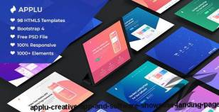 Applu - Creative App and Software Showcase Landing Page
