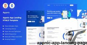 Appnic - App Landing Page By uivision